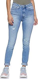 Calvin Klein Women's J20J207627-Blue Calvin Klein Skinny Jeans For Women - Blue