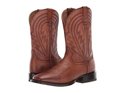 Ariat Circuit Herd Boss (Naturally Cognac) Cowboy Boots