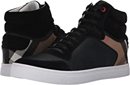 Reeth House Check High Top Sneaker