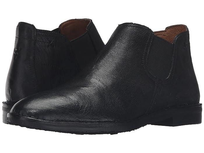 Trask  Allison (Black Italian Washed Sheepskin) Womens Dress Boots