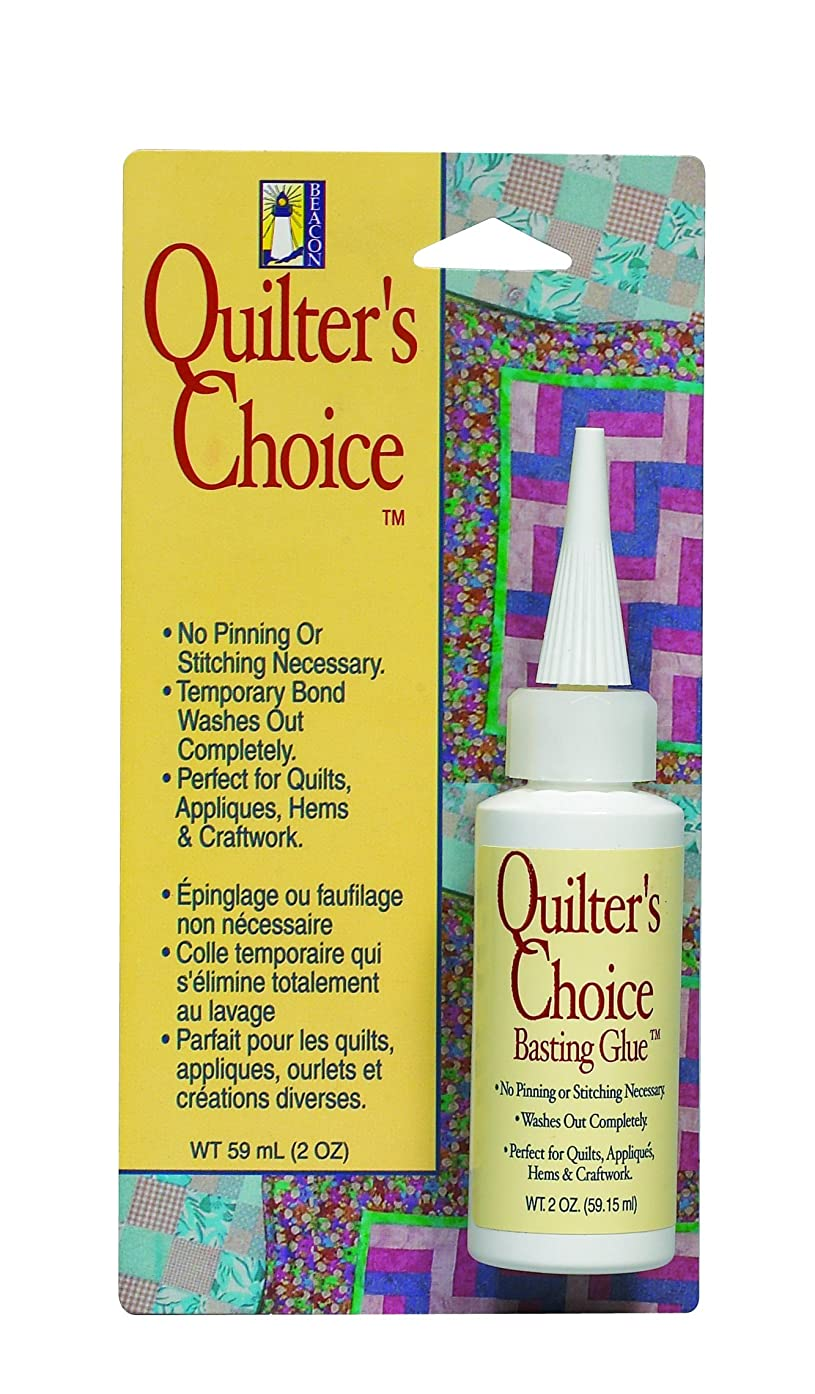 BEACON Quilter's Choice Basting Glue, 2-Ounce nmfc65655