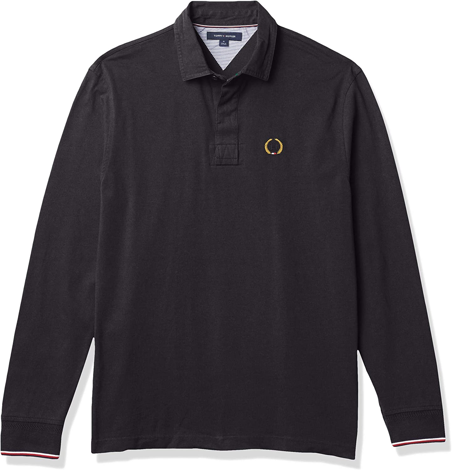 Tommy Hilfiger Men's Long Sleeve Rugby Shirt 35th Anniversary Iconic Re-Issue