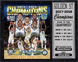 Encore 2018 Champions 12x15 Golden State Warriors Stat Plaque