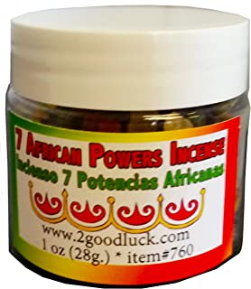 7 african powers incense uses