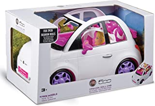 Grandi Giochi Fiat 500 bil mode docka vit 3 år + GG00620