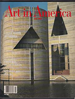 ART IN AMERICA Louis Kahn MOMA Los Angeles Activist Art Roy Lichtenstein 7 1992