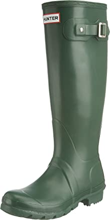 Original Hunter Wellington Boots - Green