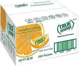 TRUE ORANGE Water Enhancer, Bulk Pack (500 Packets) | Zero Calorie Water Flavoring | For Water, Bottled Water, Iced Tea & ...