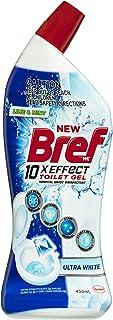 Bref 10xEffect Ultra White Lime & Mint, Hospital grade disinfectant, Toilet Cleaner Gel