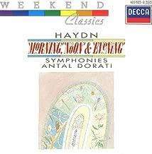 Haydn-Dorati -Symphonies,le Matin,le Midi,