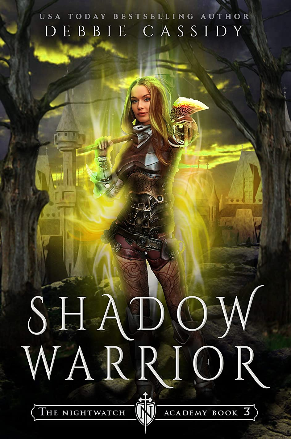 スパンガム不十分なShadow Warrior (The Nightwatch Academy Book 3) (English Edition)