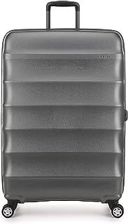 Antler Juno Metallic Suitcase Set of 3 in Charcoal