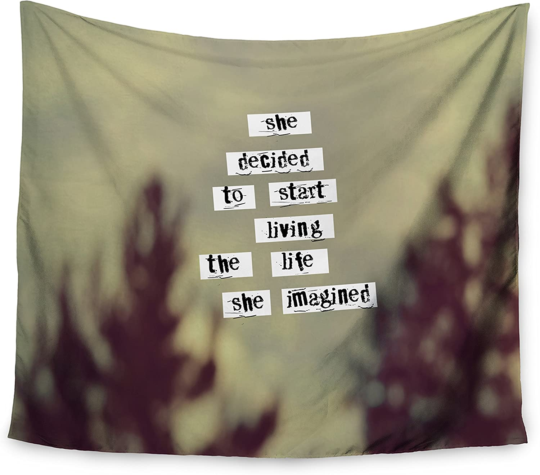 Mejor precio Kess interno de 68x 80pulgadas Rachel Rachel Rachel Burbee su vida  College dormitorio sala parojo tapiz  gran descuento