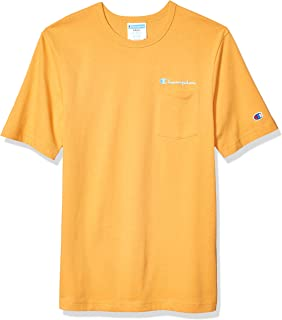 Champion LIFE Mens T5075 Heritage Pocket Tee Short Sleeve T-Shirt