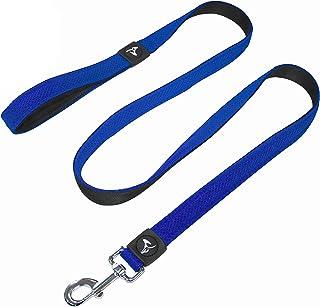 Kruz Premier 5ft Dog Mesh Leash - KZA1160 - Lightweight, Breathable, Comfort Puffy Mesh Leash - Secure Dual-Layered Tangle...