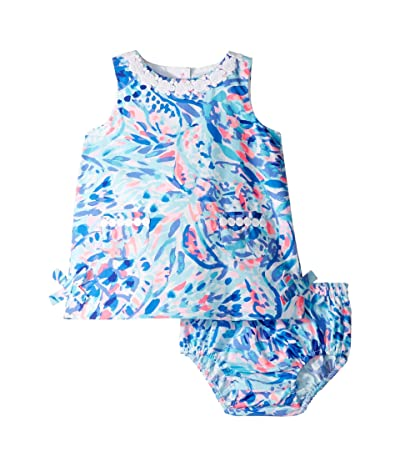 Lilly Pulitzer Kids Baby Lilly Shift (Infant) (Breakwater Tint Party Wave) Girl