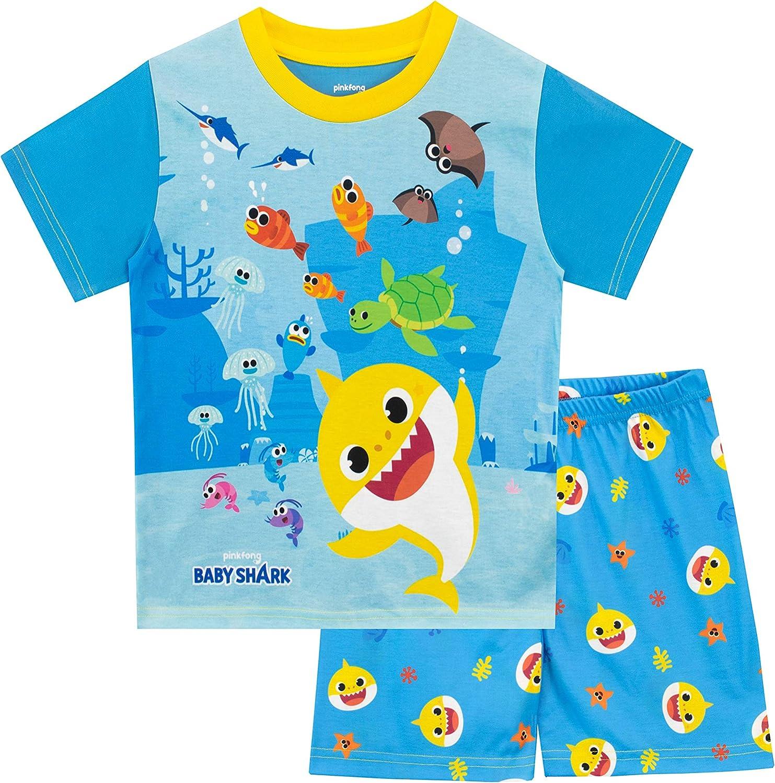 Baby Shark Boys' Pajamas