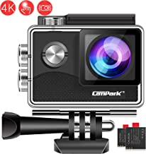 Campark X15 4K Action Camera with Touch Screen EIS...