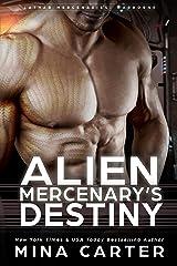 Alien Mercenary's Destiny (Lathar Mercenaries: Warborne Book 4) Kindle Edition