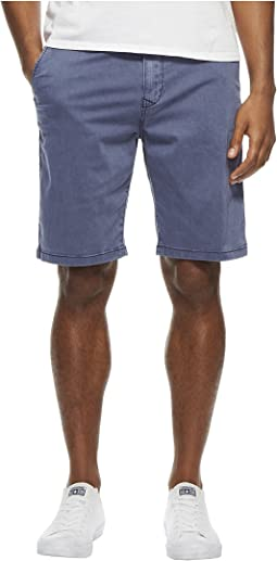 Lucky Brand - Stretch Sateen Flat Front Shorts