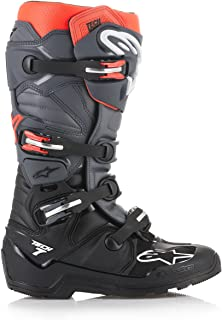 Alpinestars Crosslaarzen Tech 7 Enduro Black/Grey/Red-47 (EU)