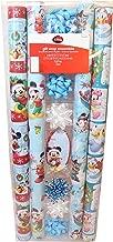 Mickey Mouse Gift Wrap Ensemble~ Tags~bows~ Bibbon Paper