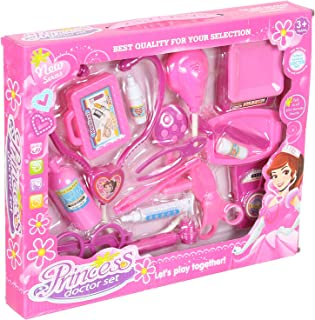 Princess Doctor Set, 18 Pieces - Pink