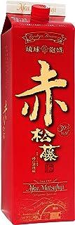 泡盛 崎山酒造 赤の松藤 黒糖酵母 30度 1800ml 紙パック 糖質ゼロ 低カロリー
