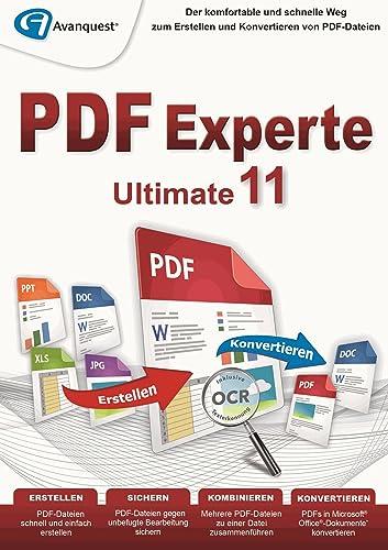 PDF Experte 11 Ultimate - Für Windows 10 8 7 Vista XP [Download]