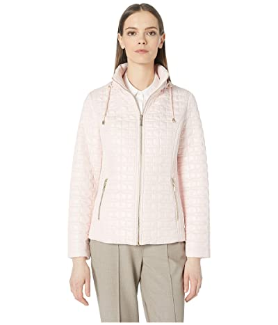 Kate Spade New York Quilted Jacket (Orchid Pink) Women