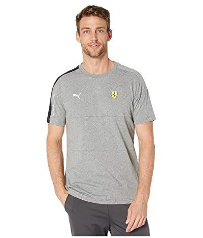 PUMA SF T7 Tee (Medium Grey Heather) Men