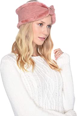 Bow Water Resistant Sheepskin Headband