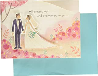 Hallmark Paper Wonder Paper Craft Wedding Card (Beautiful Journey)