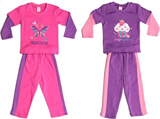 Just Love Girls Two Piece Fleece Set (Pack of 2)