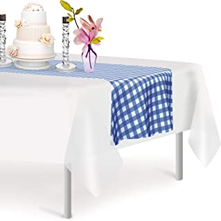 Best blue checkered table runner Reviews