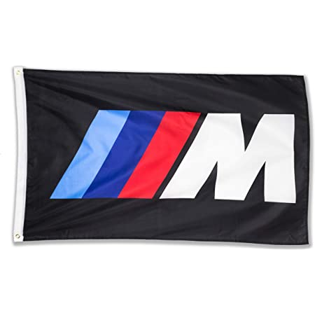 WHGJ Car Flag 3x5 FT Fade Resistant For M Logo IIIM Racing Car 150D Quality Thicker Large Garage Decor Banner