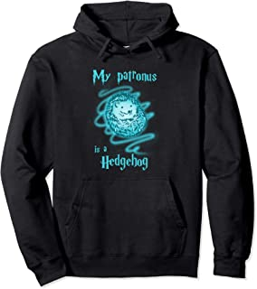 My Patronus Is A Hedgehog Cute Funny Animal Hoodie