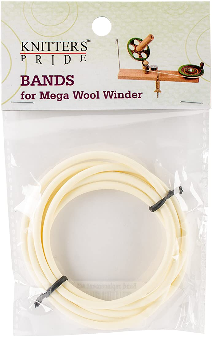 Knitter's Pride KP800375 Band Replacement Set for Ball Winder, Off Off White