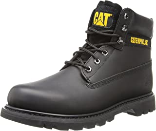 Caterpillar Colorado 6 Inch Black Mens Boots Size 8 UK
