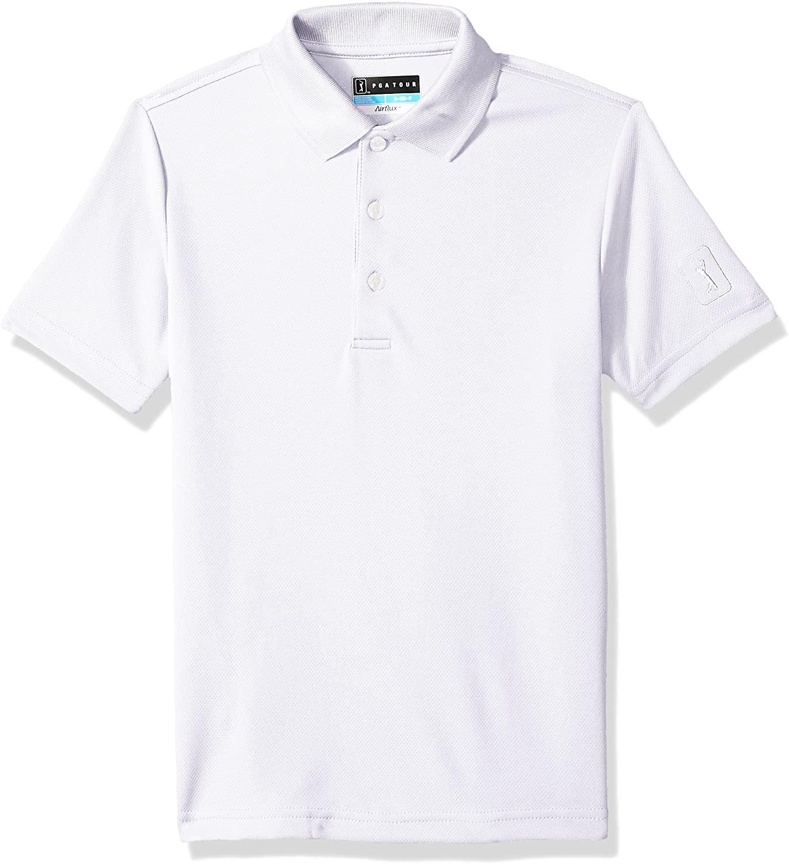 Details about  /PGA TOUR Men/'s Airflux Short Sleeve Solid Polo-Shi Choose SZ//color