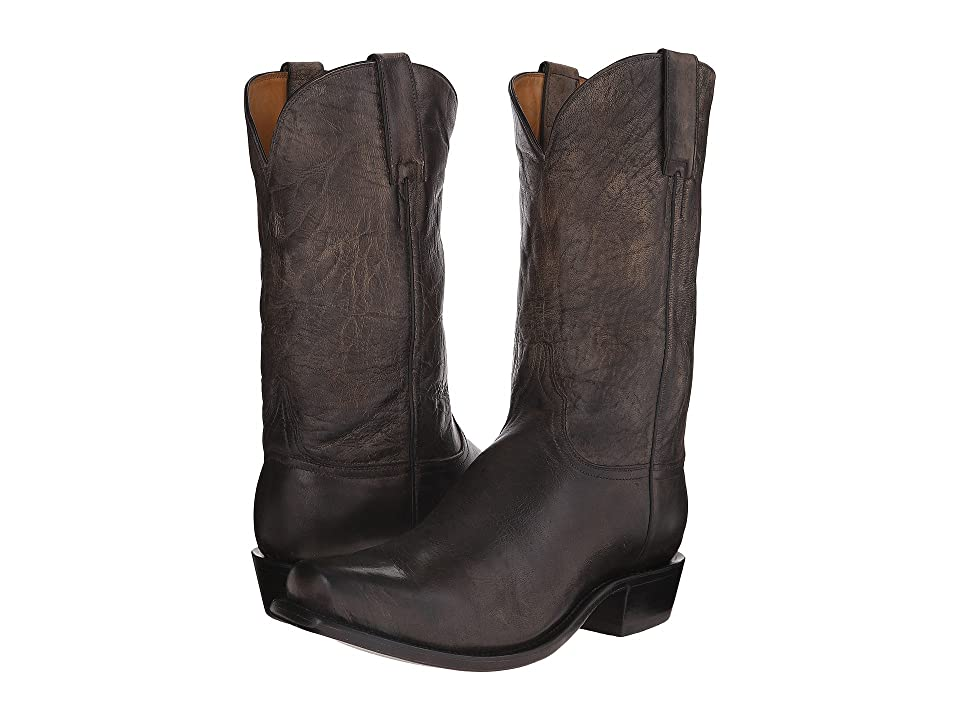Lucchese Leadville (Anthracite Grey) Cowboy Boots