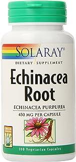 Solaray Echinacea Purpurea Root, Veg Cap (Btl-Plastic) 440mg   100ct