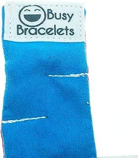 Marble Maze Bracelet - Sensory Bracelet - Fidget Bracelet - Anxiety Tool Aide - Dress Up - Children Kids Boy Girl Red Blue