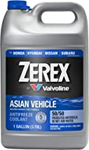 Zerex Asian Vehicle Blue Silicate and Borate Free 50/50 Prediluted Ready-to-Use Antifreeze/Coolant 1 GA