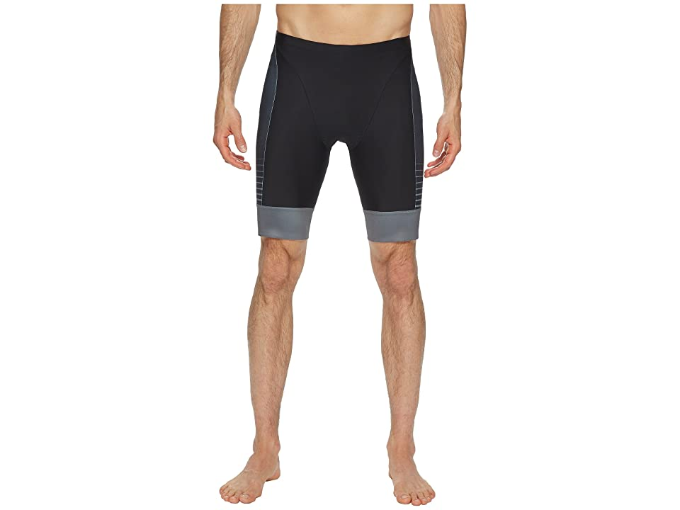 Pearl Izumi Elite Pursuit Graphic Tri Shorts (Black/Screaming Yellow Foil) Men