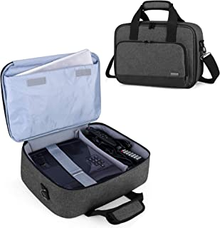 Luxja Projector Case, Projector Bag with Protective Laptop Sleeve, Projector Carrying Case with Accessories Pockets, Larg...