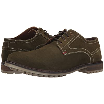 Hush Puppies Rohan Rigby (Olive Suede) Men