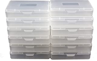 12 Pcs Gameboy Cartridge Cases for GBA SP GBM Plastic Dust Protection Covers