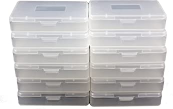 24 Pcs Gameboy Game Cases Cartridges for GBA SP GBM Plastic Dust Protection Covers
