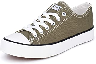 Women's Canvas Shoes Casual Sneakers Low Top Lace Up...